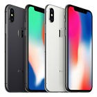 Apple iPhone X - 64GB 256GB - (Unlocked/SIM FREE) Smartphone 1 Year Warranty