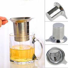 Stainless Steel Tea Leaf Mesh Tea Infuser Metal Cup Strainer Loose Filter Sieve