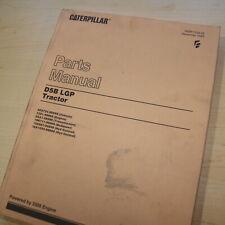 CATERPILLAR D5B Tractor Dozer Crawler Parts Manual Book catalog power shift 46X
