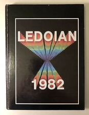 1982 Aledo Texas High School Yearbook Annual Ledoian~Parker County~Willow Park