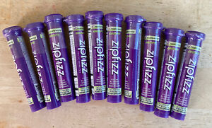 10 Count Zipfizz Grape Healthy Energy Tubes (100mg Natural Caffeine)