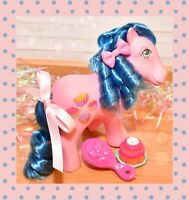 ❤️My Little Pony MLP G1 Vtg Sweet Delight Cookery Ponies Euro Fancy Cakes 1984❤️