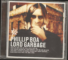 PHILLIP BOA LORD GARBAGE 12 track CD NEW 24 page Booklet 1998