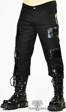 Cryoflesh Paragon 3/4 Cyber Goth Punk Rave Industrial Tactical EMO Shorts Pants