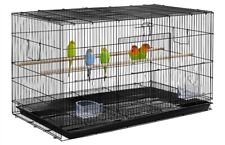 Large No Mess Bird Cage For LoveBirds Aviaries Canary Finches Parakeet Cockatiel