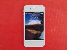 APPLE iPHONE A1349 CDMA White 8GB (Works But Locked) Verizon 3G