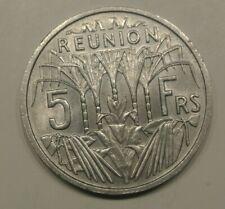 REUNION  5 FRANCS  alu   1955  FDC  RARE a saisir !