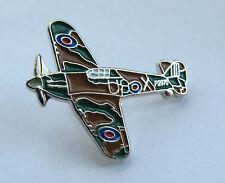 Hurricane RAF WW2 Aeroplane Quality Enamel Pin Badge