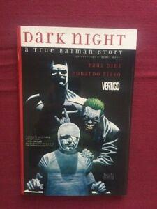 DARK KNIGHT A TRUE BATMAN STORY Hard Cover HC