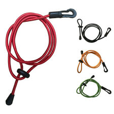 UK_ Elastic Kayak Canoe Rowing Paddle Leash Cord Rope Safety Fishing Rod Lanyard