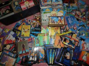 LOT : +4500 cartes Dragon Ball / Z / GT ! (toutes collections, toutes années) !