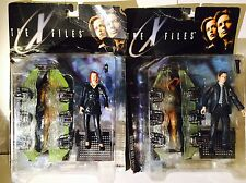 Mcfarlane toys x-files figurines. agent fox mulder et dana scully coffret 1998