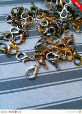 BULK Clasps Assorted Lobster Clasps Wholesale Findings Parrot Clasps 12mm 50pc
