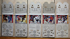 1994-95 Jell-O Sharp Shooters Hockey Card 2 Cards. Price is PER 2 card set.