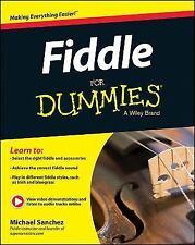 Fiddle for Dummies, Paperback by Sanchez, Michael (COR)