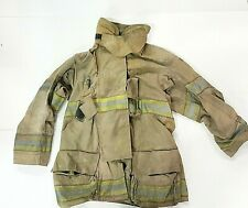 42x35 Brown Globe Gxtreme Firefighter Jacket with No Liner JNL-53