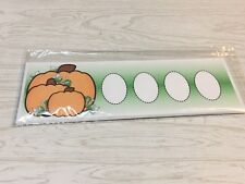 Pumpkin Patch Shape Trace- Dry Erase - Laminated Activity Set - Teaching Supply