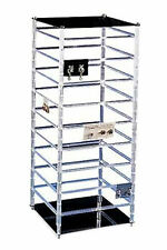 Large Rotating Jewelry Rack 10 X 10 X 25h Holds 144 2w Earring Cards