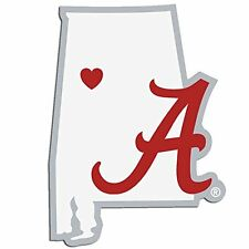 Alabama Crimson Tide Home State Decal Sticker Repositionable NEW USA SHIPPER