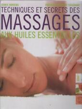 Techniques et Secrets des Massages aux Huiles Essentielles - Jennie Hardy