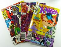 Marvel UNCANNY X-MEN (1981) #204 205 228 + ANNUAL #10 FN to VF CLAREMONT LOT