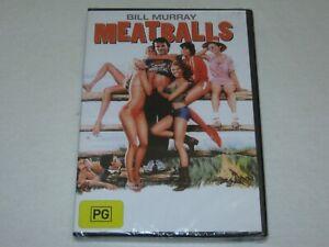 Meat Balls - Bill Murray - Brand New & Sealed - Region 4 - DVD
