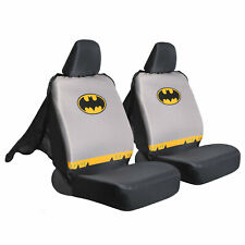 Car Seat Cover Set Warner Bro DC Batman Sideless Front Set  with Headrest Covers