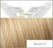 Halo Esque Secret Wire Remy Hair Extensions Premium 200g Blonde 27 High Quality!