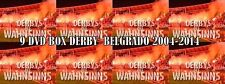 COFANETTO 9 DVD BELGRADO DERBY 2004-2014  ||ULTRAS|| RED STAR || PARTIZAN||