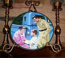 Meeting Aunt Bee from The Andy Griffith Show Plate Collection, Coa