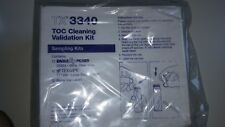 TX 3340 TOC CLEANING VALIDATION KIT pack of 12 pcs