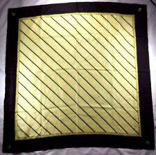 "Vanderbilt School of Medicine Ladies Silk Shawl 30"" X 30"" Multi-Color Striped"