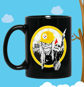 Iron Maiden Pittsburgh Steelers 2020 Coffee Mug