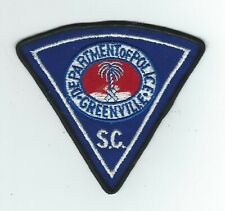 VINTAGE GREENVILLE, SOUTH CAROLINA POLICE (CHEESE CLOTH BACK) patch