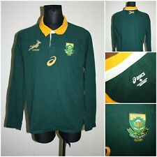 ASICS Men's size XLARGE Long sleeve SOUTH AFRICA Rugby Shirt / T-shirt