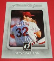 2016 Donruss Masters of the Game MG-5 Phillies Steve Carlton Insert Card
