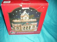 St Nicholas Square The County Court House Porcelain Lighted House  A-741
