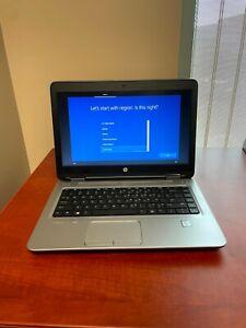 """HP ProBook 640 G3 14"""" Intel Core i5-7200U @ 2.50GHz 8GB DDR4 256GB SSD 1BS09UT"""