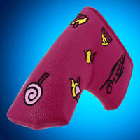 Purple Red Putter Cover Headcover For Scotty Cameron Titleist Blade Magnetic
