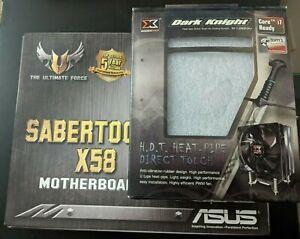 ASUS SABERTOOTH X58 motherboard + Intel Core i7-970 CPU Corsair 12GB DDR3 RAM