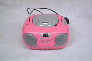 GROOVE PORTABLE CD PLAYER PINK ##EASCL93