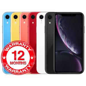 Apple iPhone XR - 64GB 128GB 256GB - Unlocked Smartphone All Colours Grades