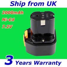 7.2V 2.0Ah Battery For Hitachi Nail Gun EB7 NR90GC EB7S EB712S EB714S Ni-Cd