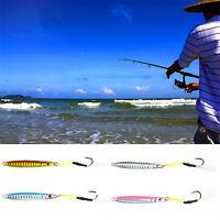 3pcs 15g Metal Jigging Spoon Bait Sea Fishing Lead Fish Fishing Lures Iron Hooks