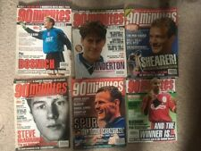 More details for 51 90 minutes football magazines - 1995-1997 - includes last ever issue 359