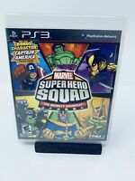 Marvel Super Hero Squad: The Infinity Gauntlet (Sony PS3 Game, 2010) - Brand New