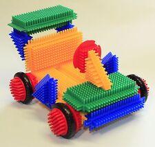 370 Stück Kreative Bausteine Steckbausteine Nopper Kinder Spielzeug Geschenk