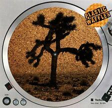 "U2 Joshua Tree Slipmat Cork Anti Static Turntable 12"" Record Player Audiophile"