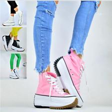 NEU Trendy Plateausohle Damen Sportschuhe Freizeit Sneaker Wedges Turnschuhe