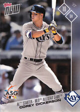 Corey Dickerson Tampa Bay Rays All-Star Game Starter ASG 2017 Topps Now AS-16